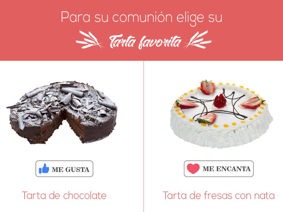 tarta favorita comunion